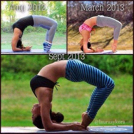 @laurasykora on Instagram from Yoga Beyond.
