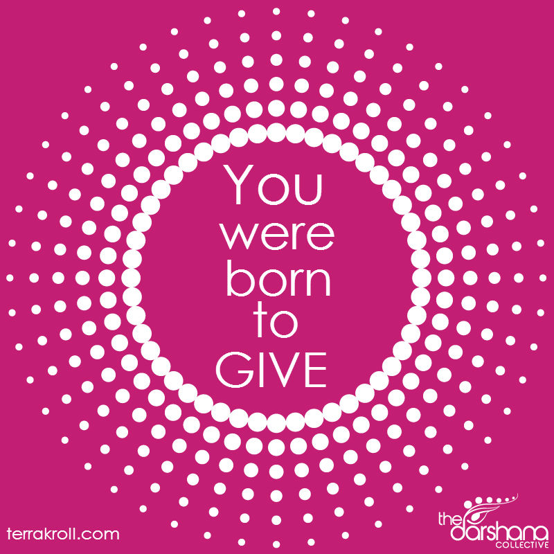 Born to Give